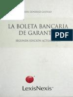 1121 La Boleta Bancaria de Garantía