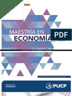 Maestria en Economia PUCP