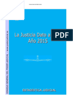 Justicia Dato a Dato Año 2015