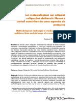 Desafios metodológicos nos estudos sobre coligações eleitorais