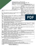 2016-2017 Programa Analitica ORAR AMG 28 Ore Curs