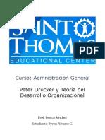 Administración General Peter Drucker