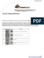Guia de Minecraft para Playstation 3