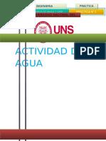 Practica n1actividad Del Agua