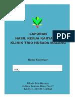 Raport Karyawan Klinik Trio Husada