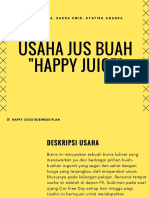 usaha jus buah  22happy juice 22