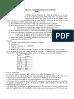 Solución Del Examen Parcial de Estadística y Probabilidades2015-2