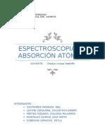 Espectroscopia de Absorción Atómica 2017