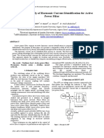 A Comparative Study of Harmonic Current Identification for Active Power Filter