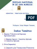 Aspectos Generales de La Tributacion Sectorial