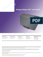 Allegro 100 User Guide