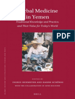 Herbal Medicine in Yemen Traditional Knowledge and Practice, And Their Value for Today_s World