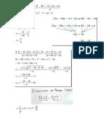 Edito de Ecuaciones en word