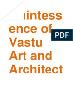 Quintessence of Vastu Art and Architecture