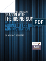 Balancing the Emergent Dragon With the Rising Sun - From the Aquino to the Duterte Administration