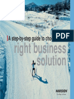 Navision - Choosing the Right Erp Solution