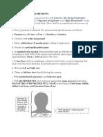 Scs Requirements