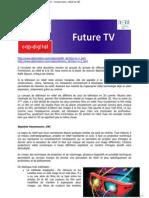 Compte rendu du séminaire Future TV n°2 (3D et relief)