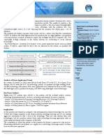 Abstract Key Patent Report Quantum Dot Display 2013