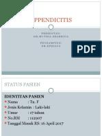 Portofolio Appendisitis