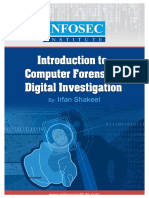 Introduction to Computer Forensics and Digital Investigation