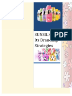 Sunsilk & Its Branding Strategies
