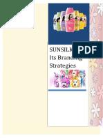 Sunsilk & Its Branding Strategies