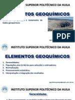Tema 4. Manipulação e Tratamento de Dados GeoquímicosV