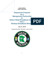 Austin Utilities (Minnesota) RFP for wireless ISP to manage citywide network