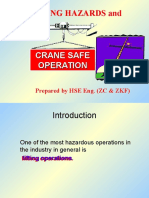 Lifting Hazards & Crane Safety