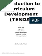 Introduction to Curriculum (TESDA)