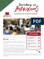 Vriende van Afrikaans-nuusbrief