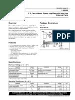 LA4485 datasheet