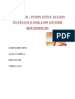 CHIT FUND - Innovation Access to Finance