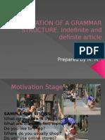 Presentation of a Grammar Structure