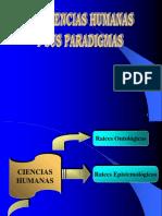 Ciencias Humanas y Sus Paradigmas