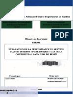 Audit Interne-Bonne Présentation Des Plans