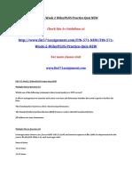 FIN 571 Week 2 WileyPLUS Practice Quiz NEW