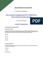 FIN 571 Week 5 WileyPLUS Practice Quiz NEW