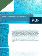 Apele subterane din România.pptx