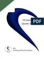 isi statistics 2017 quarter 1