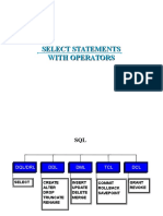1.2 SELECT Statements with Operators.ppt