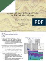 Petrel Course Information 2016-08 Linkein