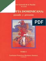 vol 93. FilosofÃ-a Dominicana, pasado y presente. Tomo I. Lusitania Francisca MartÃ-nez Jiménez..pdf