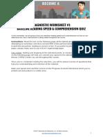 ReadingComprehensionTest1-WorldWarII