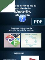 gestion de informacion