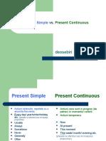 Present Simple vs Present Continuous (1)