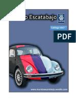 catalogo de piezas vw escarabajo