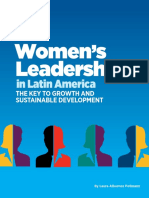 Women's Leadership in Latin America