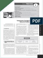 Notas de Credito y Debito Tratamiento Contable y Tributario